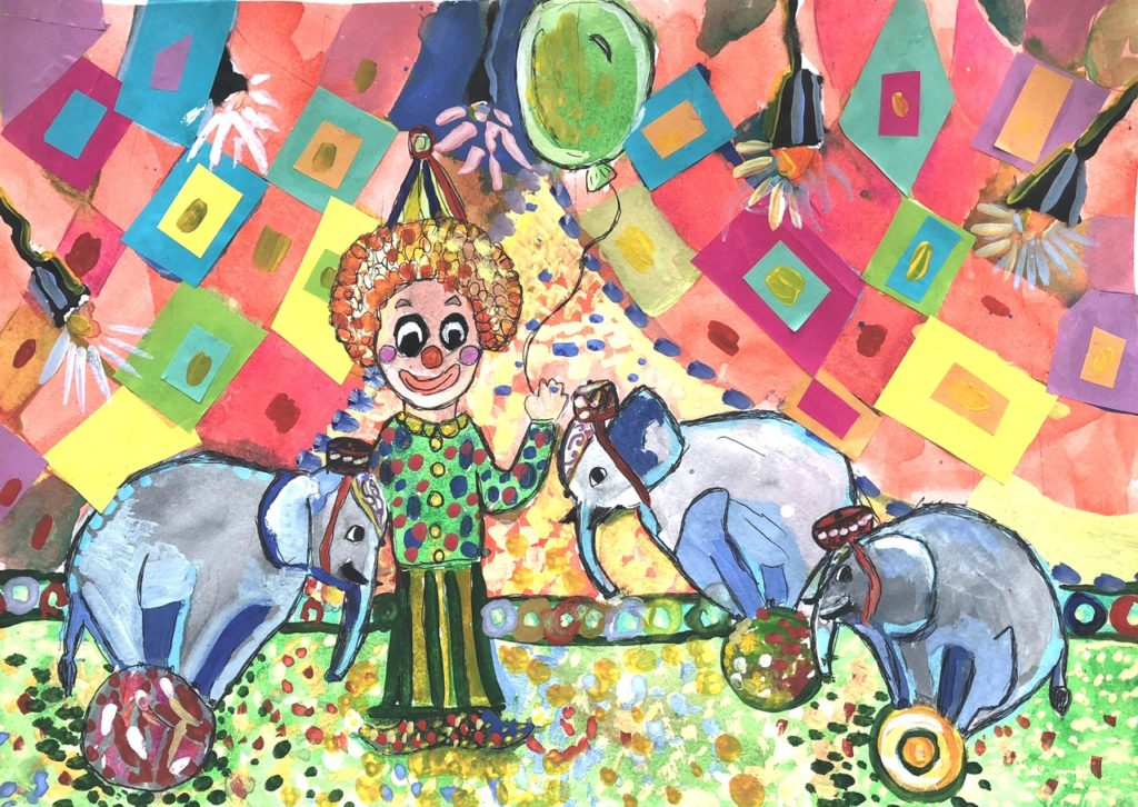 Итоги городского конкурса детского рисунка «Цирк моей мечты»