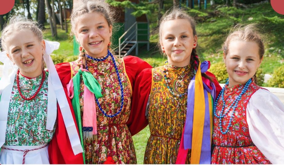 Фольклорный ансамбль «Василинка» вернулся из «Орленка»!