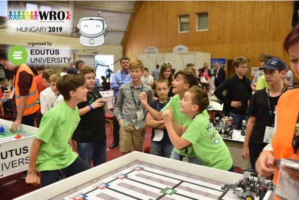 Всемирная олимпиада роботов WRO 2019 в Венгрии